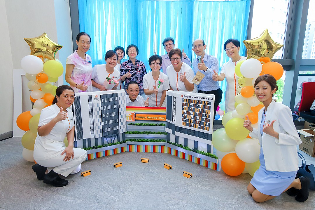 August: SKH first Nurses' Day on new campus