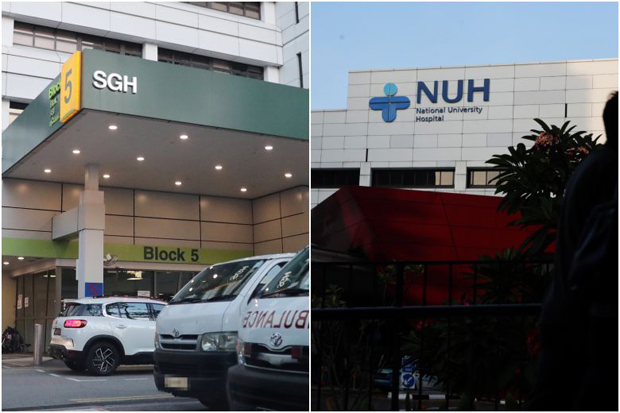SGH was ranked 8th in the survey, with the NUH in 31st place.PHOTOS ST FILE, KELVIN CHNG