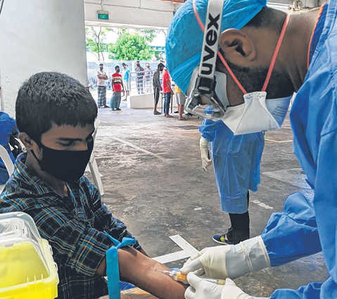 SKH Doctor who gives hope to migrant workers