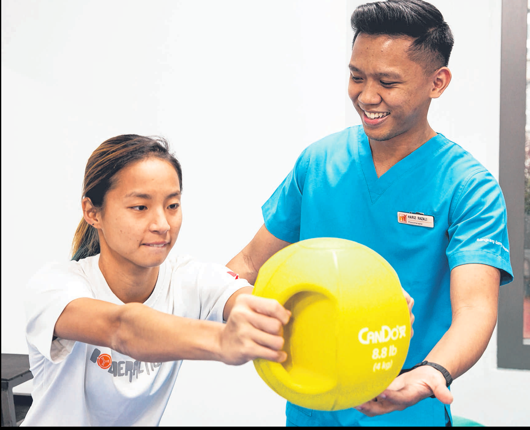 SKH physiotherapist on staying active and exercising during Hari Raya