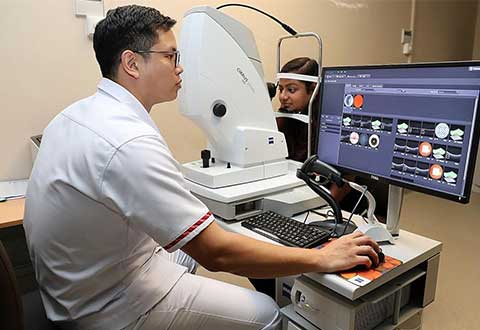 An A.I. for the eye: New tech cuts time for spotting signs of diabetic eye disease