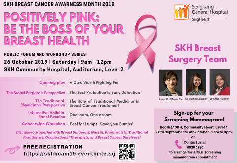 Breast Cancer Public Forum and Workshop Series