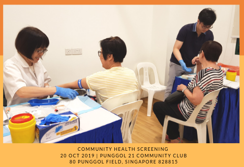 Community Health Screening: Punggol North