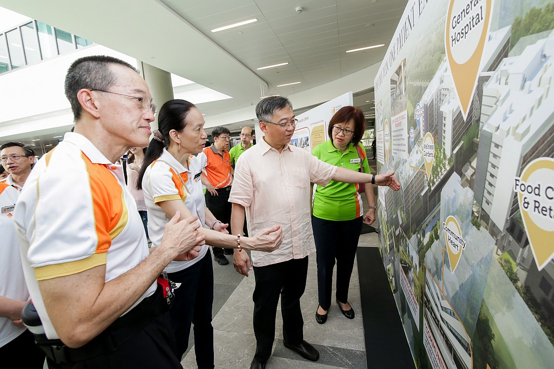 Sengkang General and Community Hospitals open their doors to serve the Northeast community
