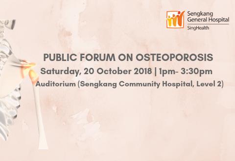 Public Forum on Osteoporosis
