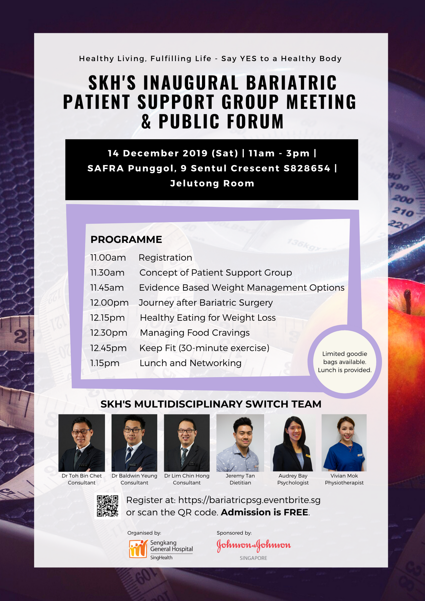 SKH Bariatric Patient Support Group Meeting and Public Forum